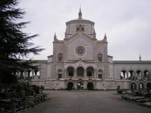 Il famedio del Cimitero Monumentale di Milano