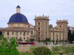 Frontis del Museo de Bellas Artes de Valencia