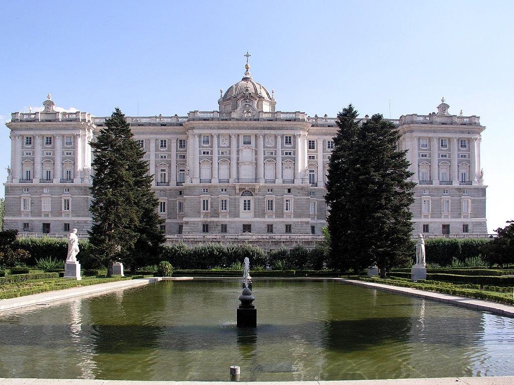 Palacio real de madrid - Jardines palacio real madrid ...