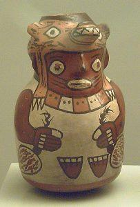 Vasija Nazca de cerámica