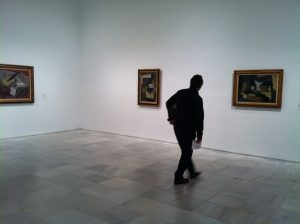 Interior del Museo Nacional Centro de Arte Reina Sofía.
