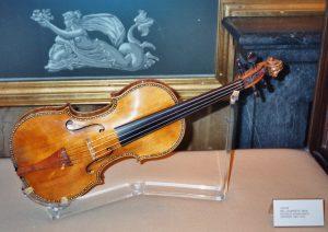 Un violín Stradivarius de la colección del Palacio