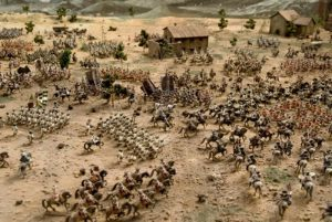 Batalla de Almansa - Museo de Soldaditos de Plomo L'lber