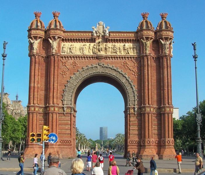 Monumentos de barcelona for Lugares turisticos de espana madrid