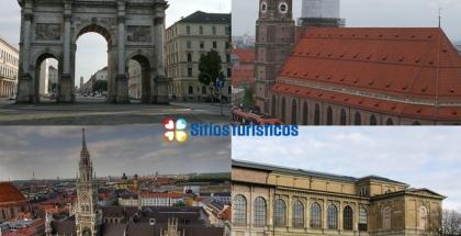 Collage Sitios turísticos de Múnich