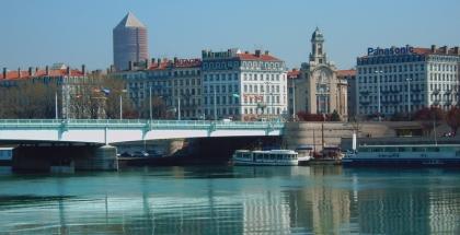 Vista de la ciudad de Lyon