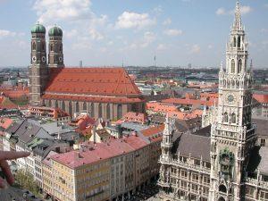 Vista general de la ciudad de Múnich