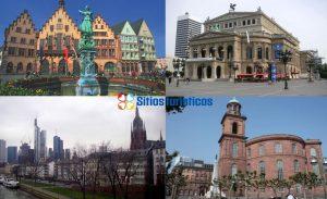collage Sitios turisticos de Frankfurt