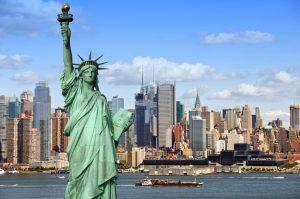 Vista de la ciudad de Nueva York