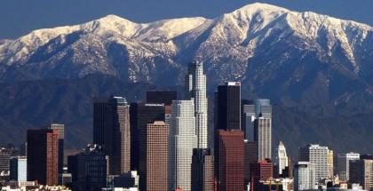 Vista de la ciudad de Los Ángeles