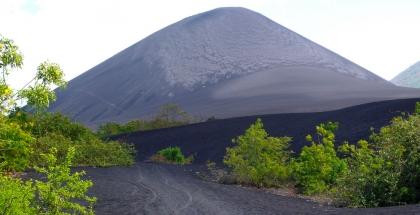 Volcan negro, Nicaragua