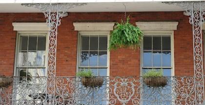 Balcones del edificio Pontalba