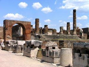 Las cenizas de Pompeya