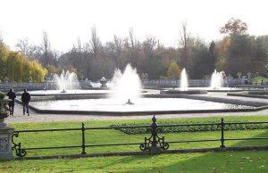 Fuente del Jardín italiando en Kensington Gardens