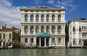 Fachada del palacio Ca' Rezzonico