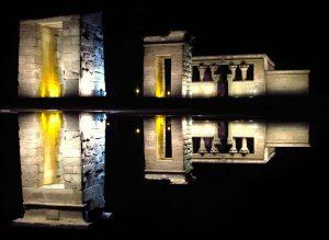 20120107 Templo de Debod-madrid,nocturna
