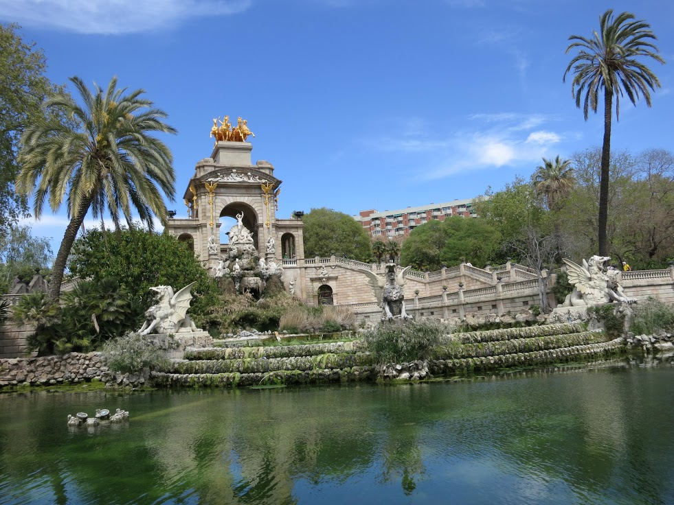 Parque de la ciudadela for Parques de barcelona