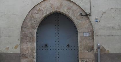 Potada gótica del Real Monasterio de la Asunción - autor