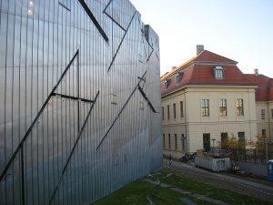 Fachada del Museo Judío de Berlín