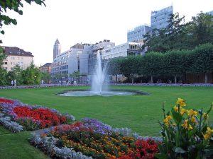Jardín de Palmeras de Frankfurt (Palmengarten)