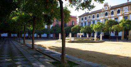 Patio de Banderas (Sevilla) - autor