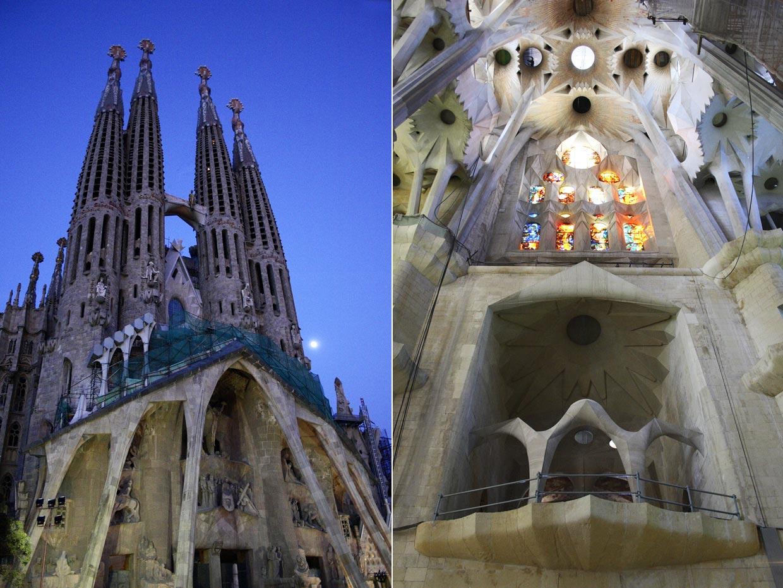 Templo expiatorio de la sagrada familia for Ciudades mas turisticas de espana